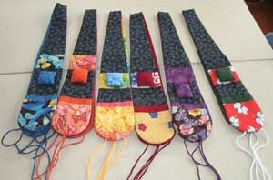 quilted chatelaines