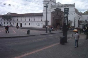 Plaza de Santo Domingo - Quito, Ecuador