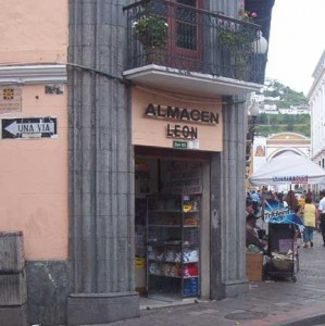 Almacén León, Quito, Ecuador