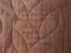 hidden quilt label